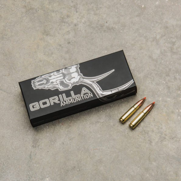 Gorilla Ammunition .300 AAC BlackOut 110gr Hornady V-Max – 20 Round Box