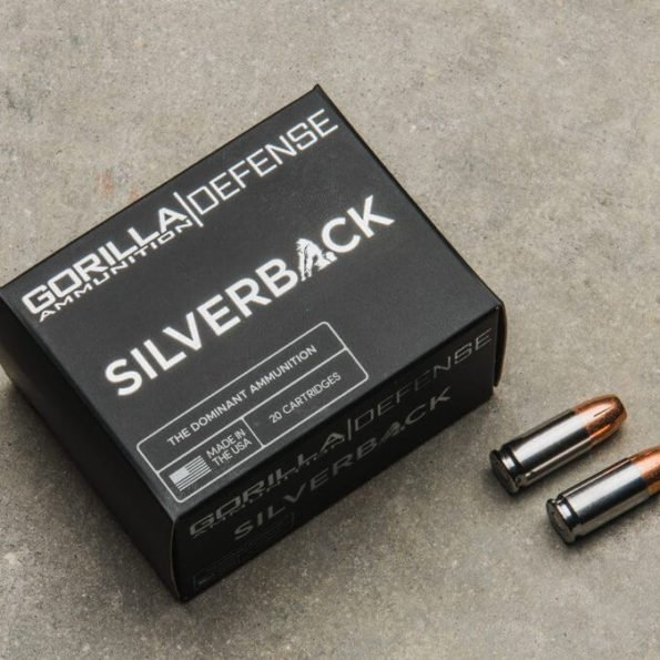 Gorilla Silverback 9MM 115gr, Self Defense, 20 Round Box