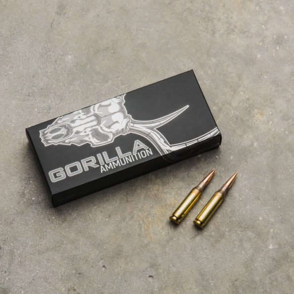 Gorilla Ammunition .260 REM 130gr Berger Hybrid Tactical – 20 Round Box