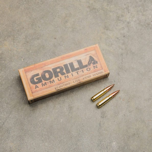 Gorilla Ammunition .300 AAC BlackOut, 147gr FMJ – 20 Round Box