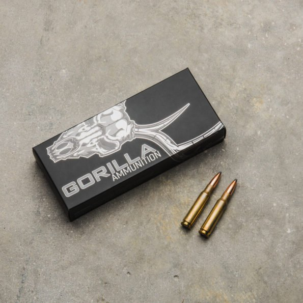 Gorilla Ammunition .308 WIN 165gr Sierra GameKing© – 20 Round Box