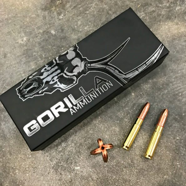 Gorilla Silverback, 300 BLK 205gr, Self Defense & Hunting Subsonic Ammunition – 20 Round Box