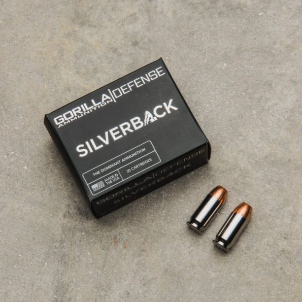 Gorilla Silverback 45ACP 230gr, Self Defense, 20 Round Box