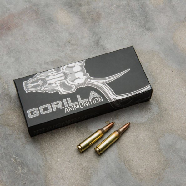 Gorilla Ammunition .260 REM 100gr Sierra Varminter Hollow Point – 20 Round Box