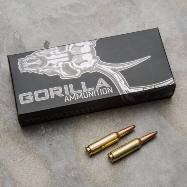 Gorilla Ammunition 6.5 Creedmoor 100gr Sierra Varminter Hollow Point – 20 Round Box