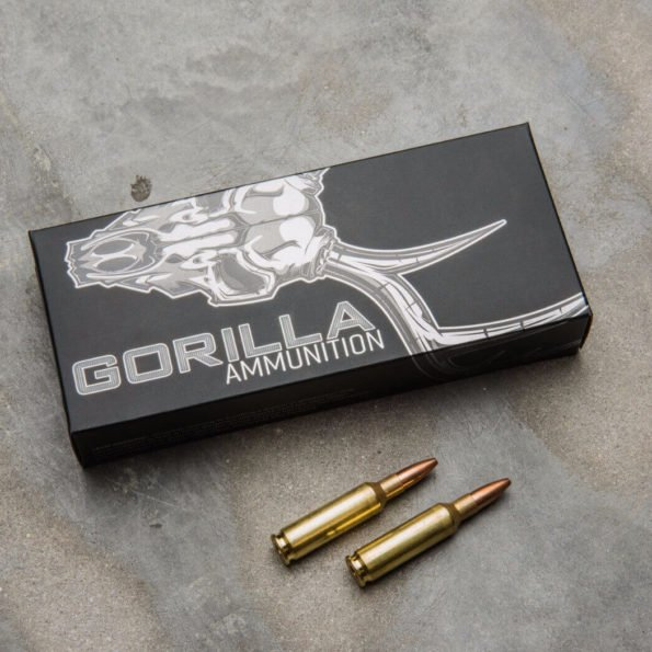 Gorilla Ammunition 6.5 Creedmoor 85gr Sierra Varminter Hollow Point – 20 Round Box