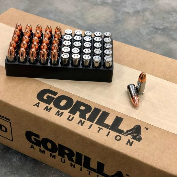 Gorilla Training, 45ACP 230gr Pistol Ammunition – 50 Round Box